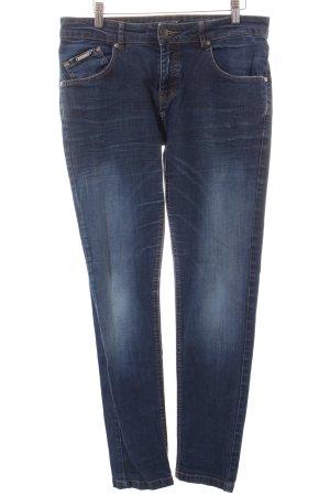 Opus Skinny Jeans dunkelblau Casual-Look
