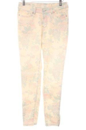 Opus Slim Jeans Allover-Druck Casual-Look