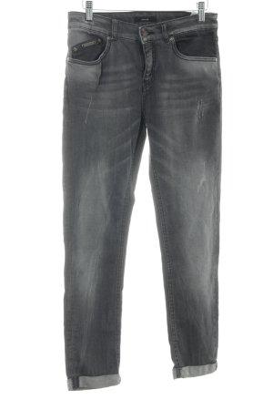 Opus Slim Jeans grau Casual-Look