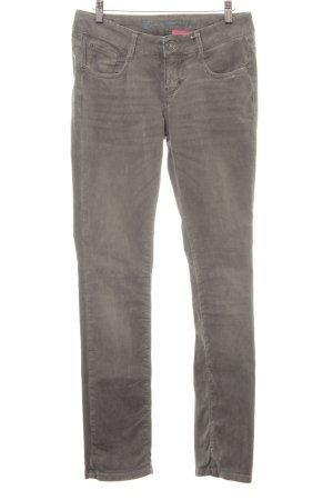 Opus Jeans slim gris style décontracté