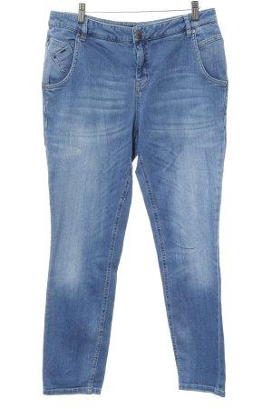 Opus Slim Jeans graublau-blassblau Jeans-Optik