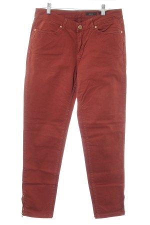 Opus Slim Jeans rostrot Casual-Look