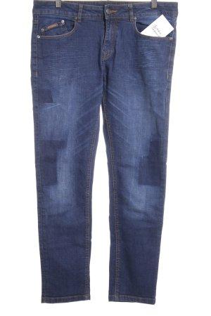 Opus Slim Jeans stahlblau Casual-Look