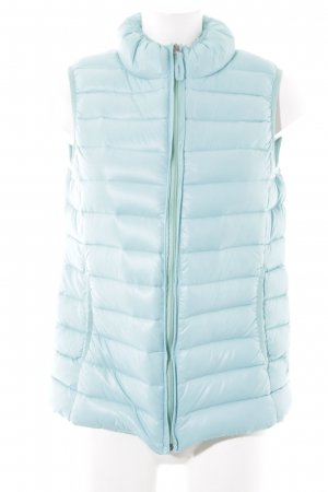 Opus Quilted Gilet light blue quilting pattern simple style