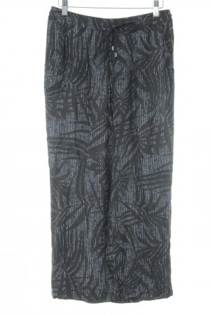 Opus Jersey Pants abstract pattern casual look