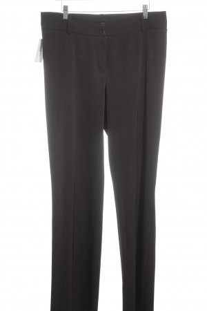 Opus Stoffhose dunkelbraun Business-Look