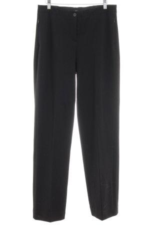 Opus Pantalone jersey nero stile professionale