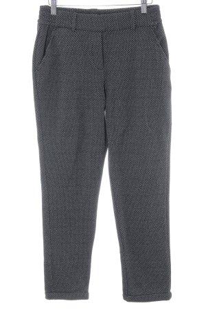 Opus Pantalone jersey nero-grigio chiaro Stampa suggestiva stile casual