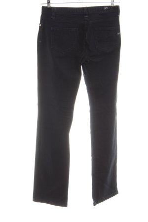 Opus Straight-Leg Jeans schwarz Casual-Look