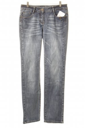 Opus Straight-Leg Jeans blau Casual-Look
