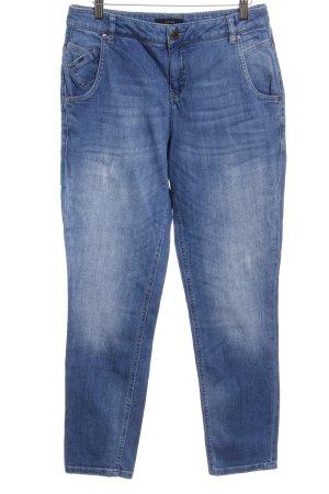 Opus Straight-Leg Jeans graublau-blassblau Jeans-Optik
