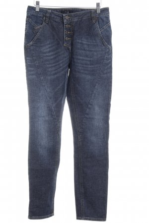 Opus Straight-Leg Jeans graublau Casual-Look