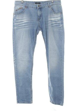 Opus Straight-Leg Jeans kornblumenblau Casual-Look