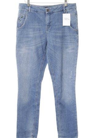 "Opus Jeans a gamba dritta ""LOTTY"" blu"