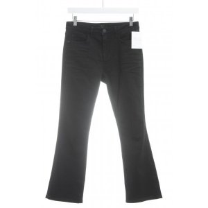 Opus Jeans a gamba dritta nero stile casual