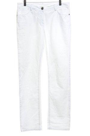 Opus Straight-Leg Jeans weiß Casual-Look