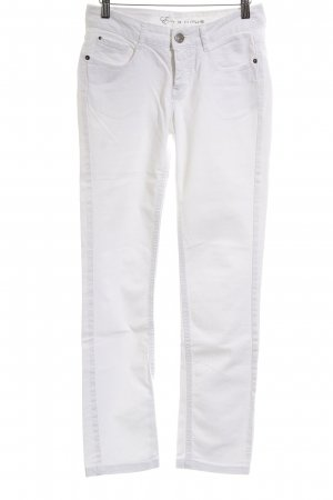 Opus Straight Leg Jeans white casual look