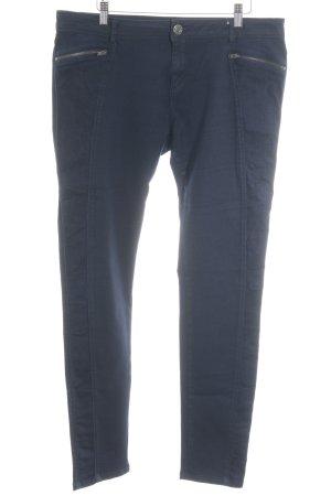 Opus Stretch Jeans dunkelblau Casual-Look