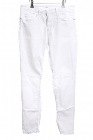 Opus Stretch Trousers white casual look