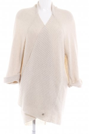 Opus Strick Cardigan creme Casual-Look