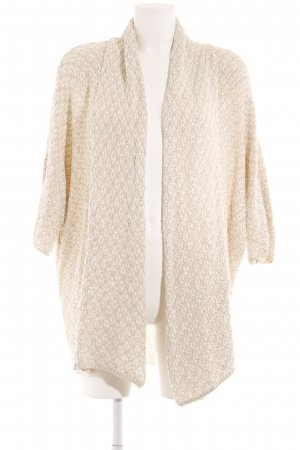 Opus Cardigan in maglia crema-bianco stile casual