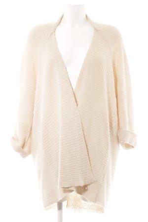 Opus Cardigan in maglia bianco sporco modello web stile casual