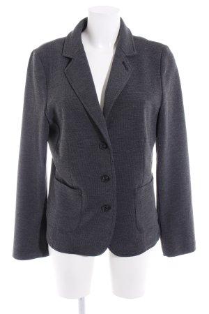 Opus Blazer in maglia grigio scuro stile professionale