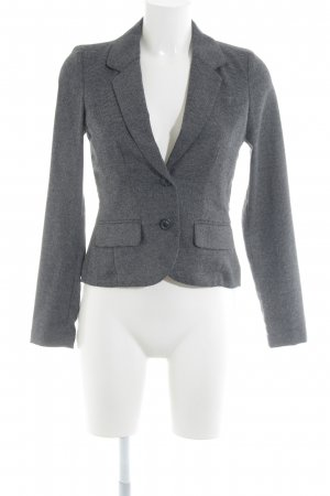 Opus Knitted Blazer grey-black flecked casual look