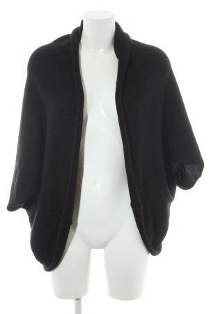 Opus Boléro en tricot noir style décontracté