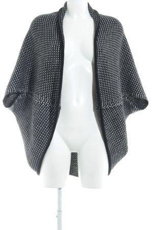 Opus Bolero lavorato a maglia nero-bianco modello web stile casual