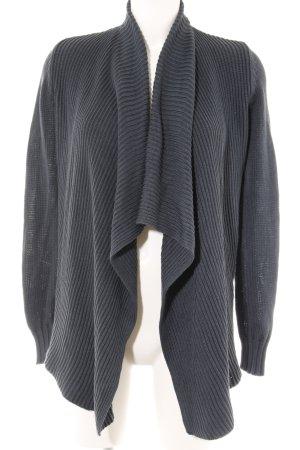 Opus Giacca in maglia blu scuro stile classico