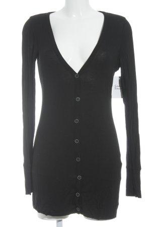 Opus Giacca in maglia nero stile classico