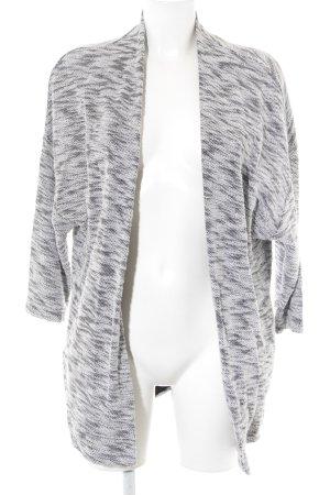 Opus Strickjacke weiß-schwarz Farbverlauf Casual-Look