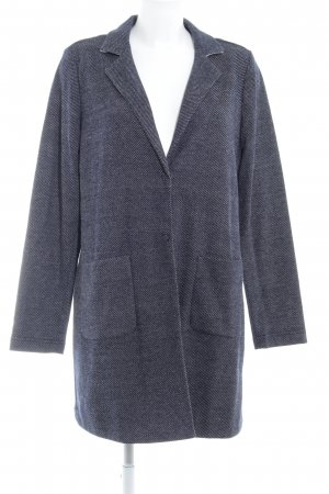Opus Knitted Coat dark blue-natural white casual look