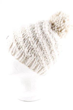 Opus Cappello a maglia bianco sporco stile casual