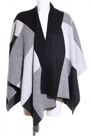 Opus Knitted Poncho striped pattern business style