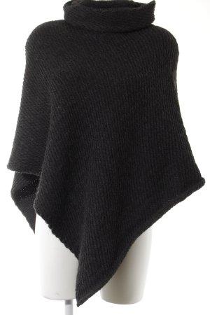 Opus Poncho in maglia talpa modello web stile casual