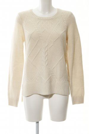 Opus Strickpullover creme Casual-Look