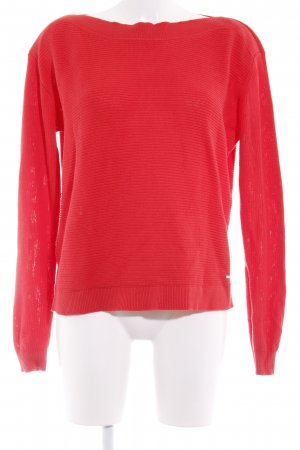 Opus Strickpullover rot Casual-Look
