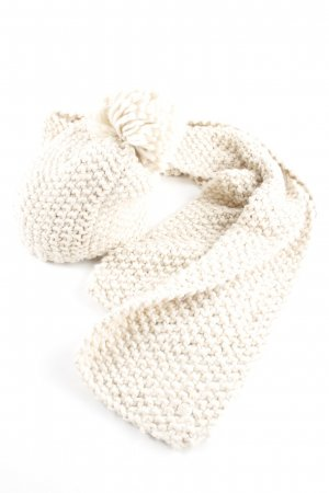 Opus Knitted Scarf oatmeal fluffy