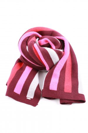 Opus Knitted Scarf striped pattern casual look
