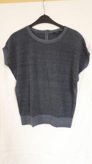Opus Camisa tejida gris pizarra