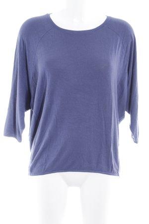 Opus Camisa tejida púrpura look casual
