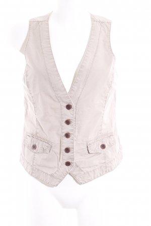 Opus Knitted Vest camel casual look