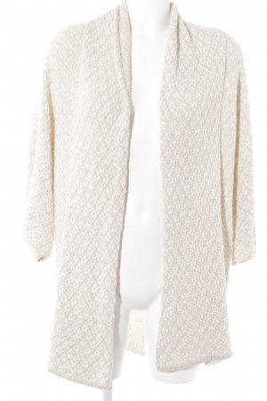 Opus Strickweste creme-weiß Casual-Look