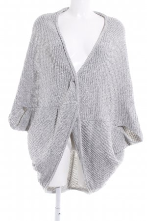 Opus Knitted Vest grey casual look