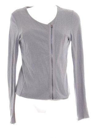 Opus Gilet tricoté gris style décontracté