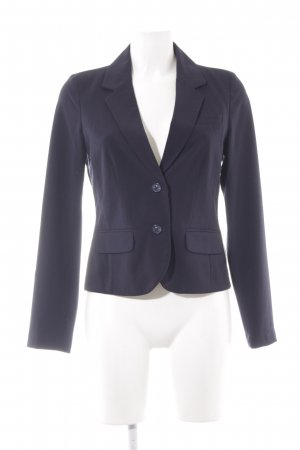 Opus Sweatblazer dunkelblau-weiß Business-Look