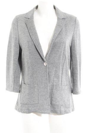 Opus Sweatblazer grau schlichter Stil