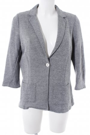Opus Sweat Blazer light grey-grey simple style
